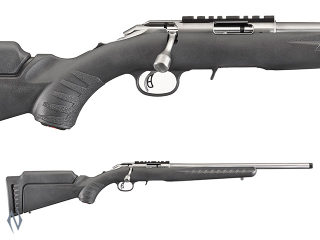 RUGER AMERICAN RIMFIRE 22LR STAINLESS THREADED Image