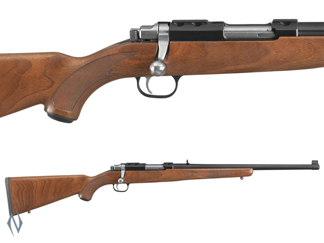 "RUGER 77/44 44 MAG BLUED WALNUT 18.5"" Image"