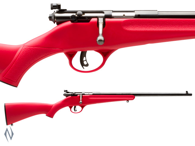 SAVAGE RASCAL RED SYNTHETIC 22LR SINGLE SHOT Image