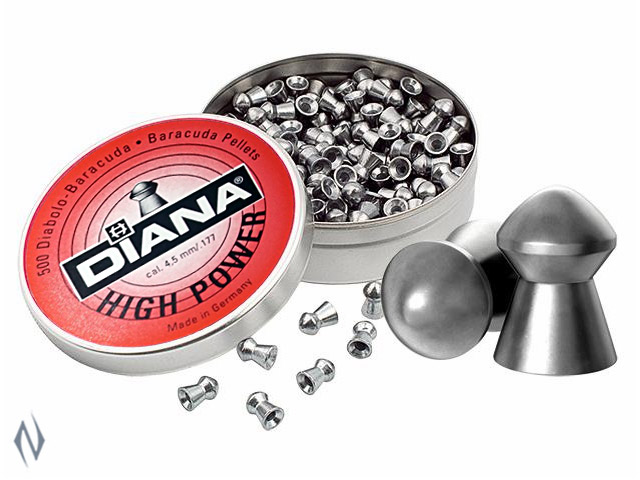 DIANA HIGH POWER 177 AIR PELLETS 400 PK Image