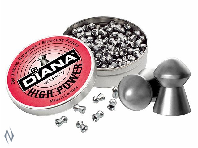 DIANA HIGH POWER 22 AIR PELLETS 200 PK Image