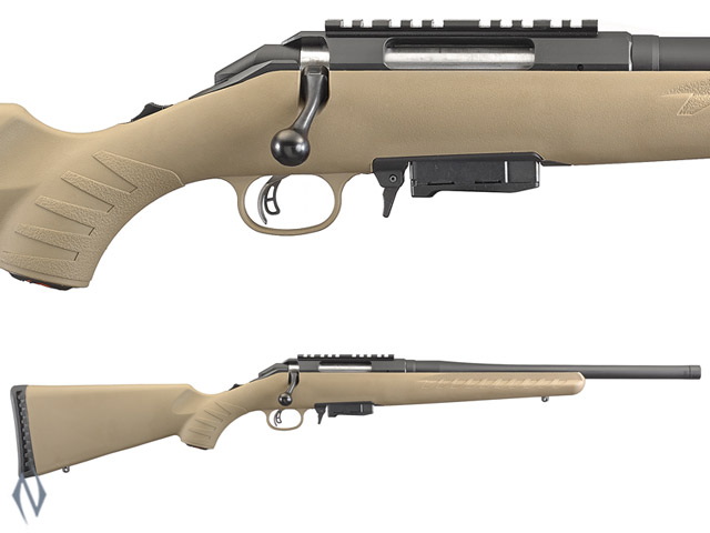 """RUGER AMERICAN RIFLE RANCH 7.62X39 BLUED 16"""" THREADED Image"""