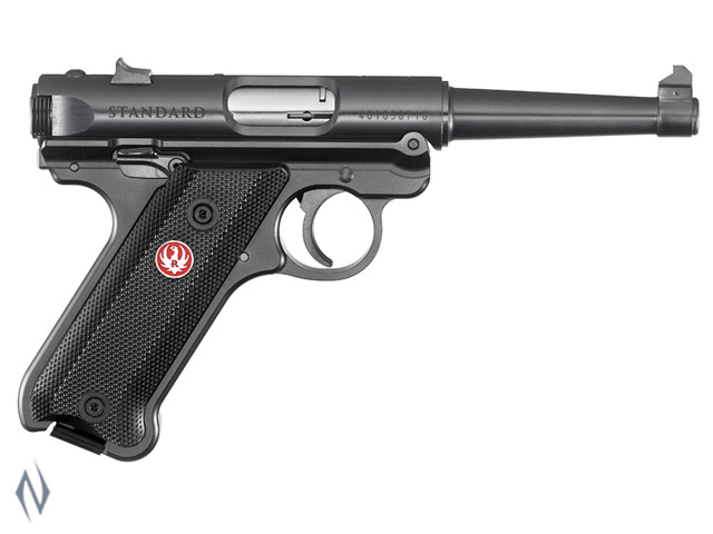 RUGER MKIV 22LR STANDARD BLUED 121MM Image