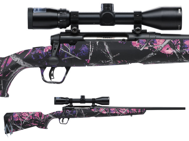 "SAVAGE AXIS II XP COMPACT MUDDY GIRL PACKAGE 243 WIN 20"" 4 SHOT Image"