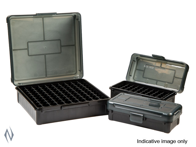FRANKFORD ARSENAL HINGE LID AMMO BOX 380 - 9MM 50 RD Image