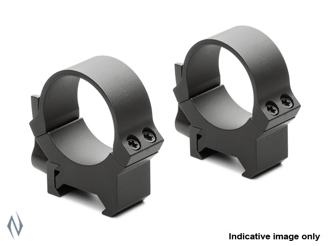 LEUPOLD QRW2 30MM RINGS LOW GLOSS Image