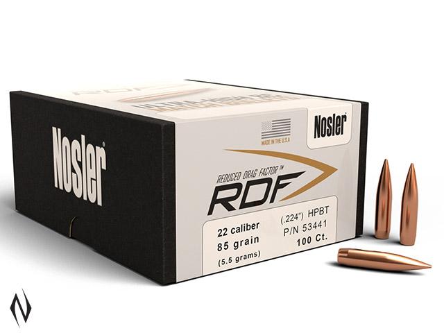 NOSLER RDF 224 85GR HPBT 100PK Image