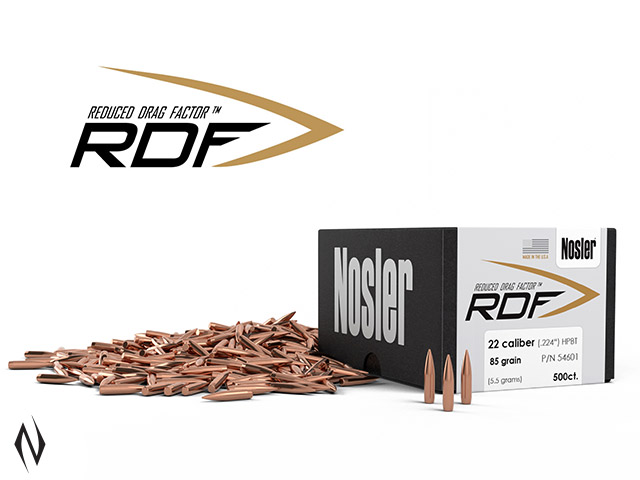 NOSLER RDF 224 85GR HPBT 500PK Image