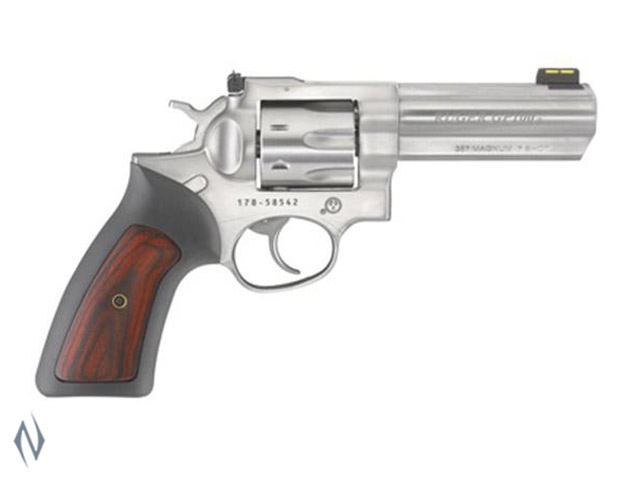 RUGER GP100 357 STAINLESS 106MM 7 SHOT Image