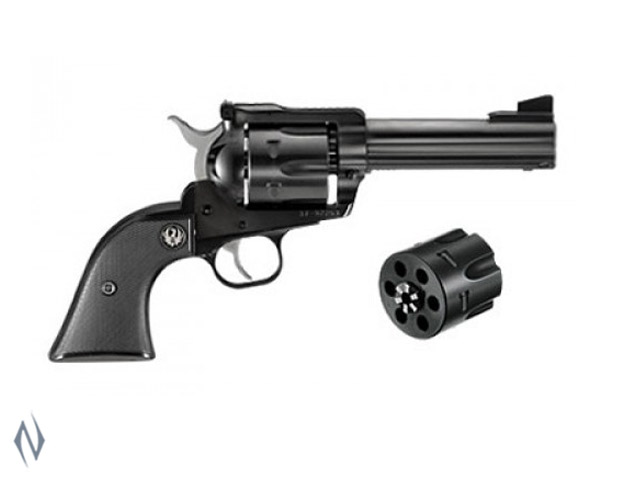 RUGER BLACKHAWK 9MM /357 BLUED CONVERTIBLE 117MM Image