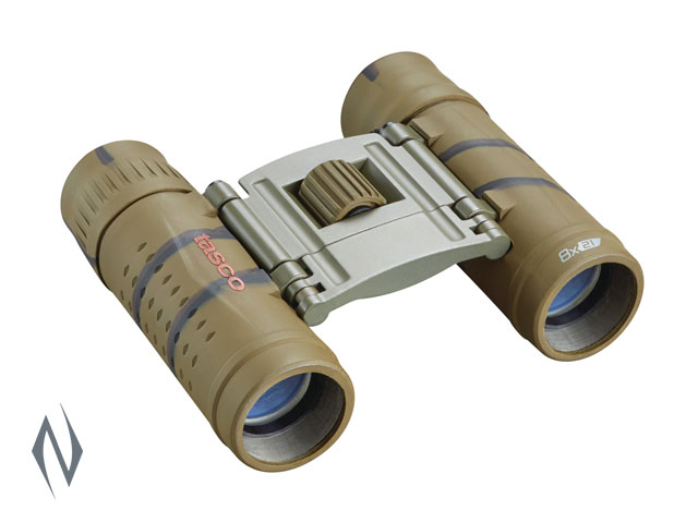 TASCO ESSENTIALS 8X21 ROOF BROWN CAMO BINOCULAR Image