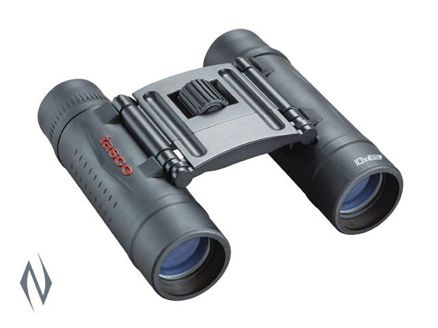 TASCO ESSENTIALS 10X25 ROOF BLACK BINOCULAR Image