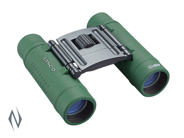 TASCO ESSENTIALS 10X25 ROOF GREEN BINOCULAR Image