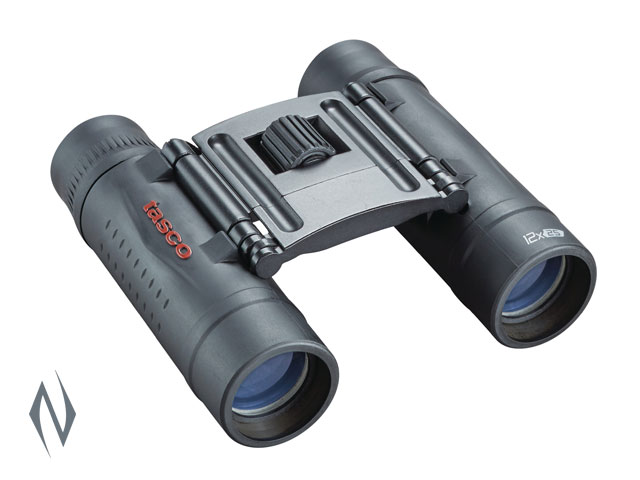 TASCO ESSENTIALS 12X25 ROOF BLACK BINOCULAR Image