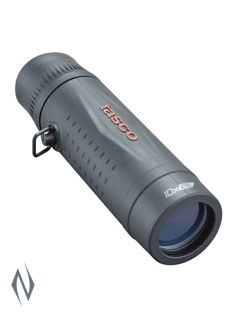 TASCO ESSENTIALS 10X25 ROOF BLACK MONOCULAR Image