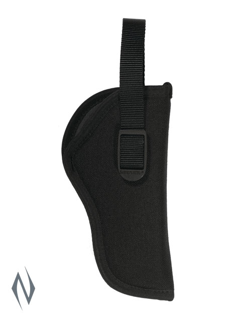 UNCLE MIKES SIDEKICK HIP HOLSTER BLACK SIZE 2 RH Image