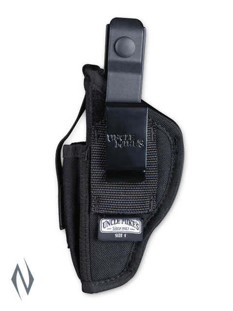 UNCLE MIKES AMBIDEXTROUS SIDEKICK HOLSTER BLACK SIZE 2 Image