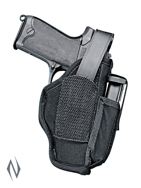 UNCLE MIKES AMBIDEXTROUS SIDEKICK HOLSTER BLACK + CARTRIDGE LOOP Image