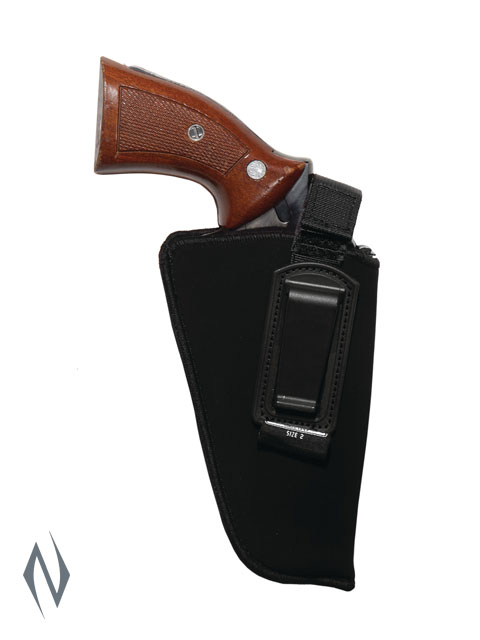 UNCLE MIKES INSIDE THE PANTS HOLSTER BLACK SIZE 2 RH Image