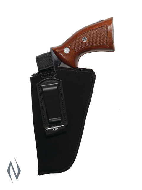 UNCLE MIKES INSIDE THE PANTS HOLSTER BLACK SIZE 2 LH Image
