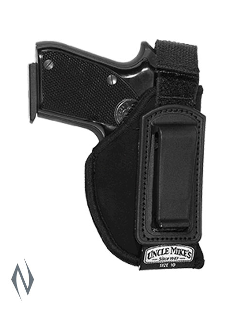 UNCLE MIKES INSIDE THE PANTS HOLSTER BLACK SIZE 10 RH Image