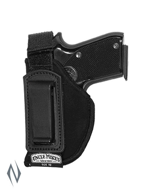 UNCLE MIKES INSIDE THE PANTS HOLSTER BLACK SIZE 10 LH Image