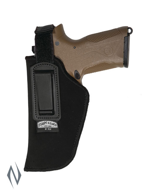 UNCLE MIKES INSIDE THE PANTS HOLSTER BLACK SIZE 15 LH Image