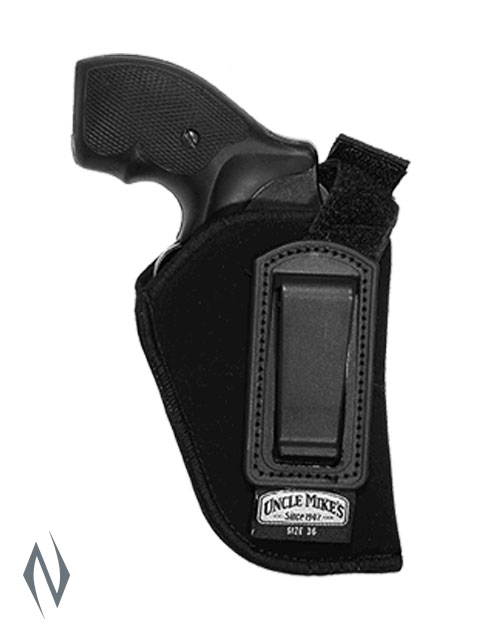 UNCLE MIKES INSIDE THE PANTS HOLSTER BLACK SIZE 36 RH Image