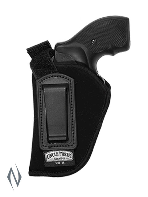 UNCLE MIKES INSIDE THE PANTS HOLSTER BLACK SIZE 36 LH Image