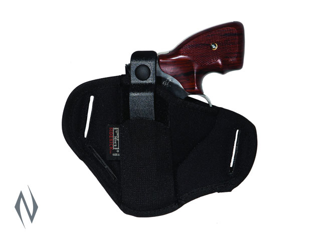 UNCLE MIKES SUPER BELT SLIDE HOLSTER BLACK SIZE 0 AMBI Image