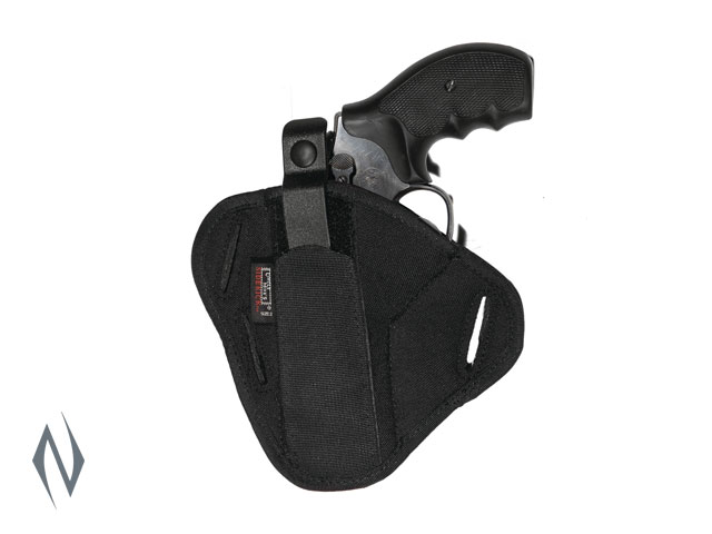 UNCLE MIKES SUPER BELT SLIDE HOLSTER BLACK SIZE 2 AMBI Image