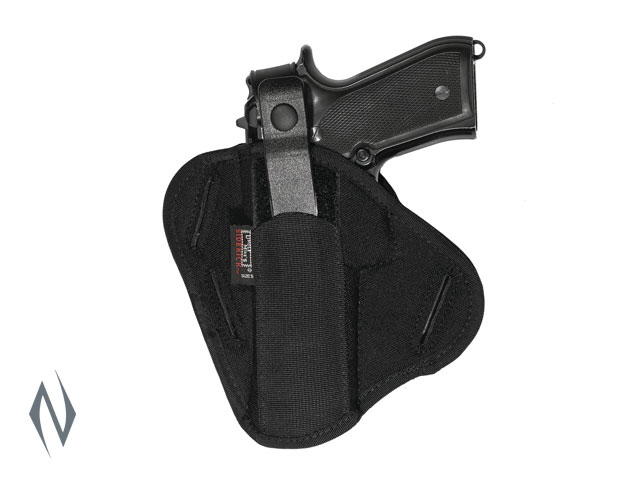 UNCLE MIKES SUPER BELT SLIDE HOLSTER BLACK SIZE 5 AMBI Image
