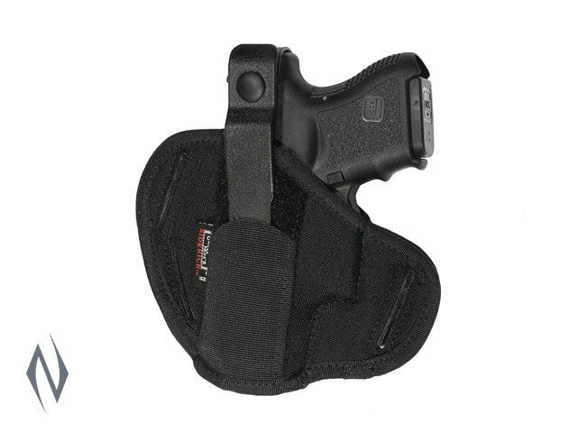 UNCLE MIKES SUPER BELT SLIDE HOLSTER BLACK SIZE 12 AMBI Image