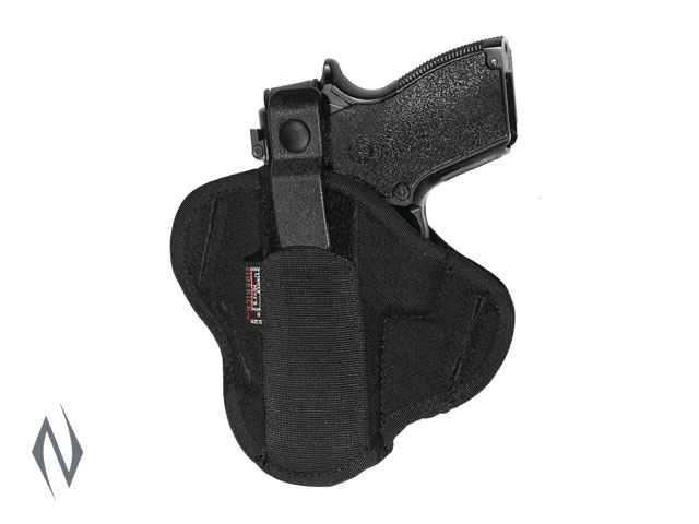 UNCLE MIKES SUPER BELT SLIDE HOLSTER BLACK SIZE 15 AMBI Image