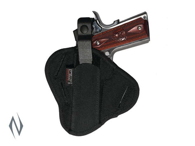 UNCLE MIKES SUPER BELT SLIDE HOLSTER BLACK SIZE 19 AMBI Image