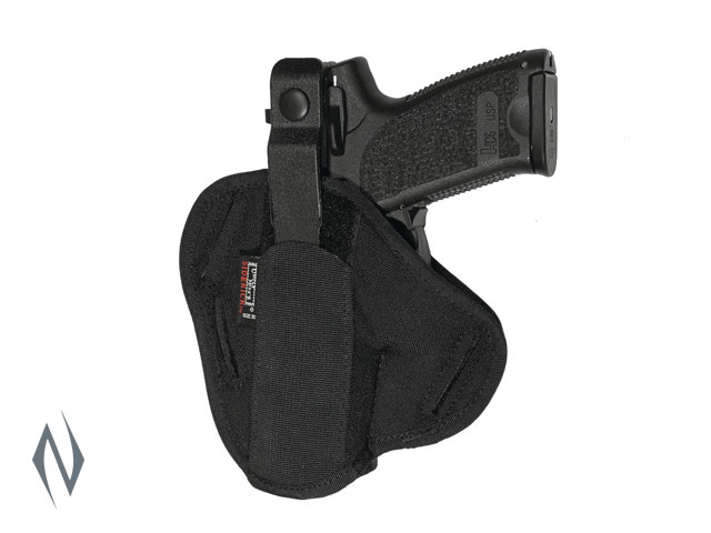 UNCLE MIKES SUPER BELT SLIDE HOLSTER BLACK SIZE 30 AMBI Image