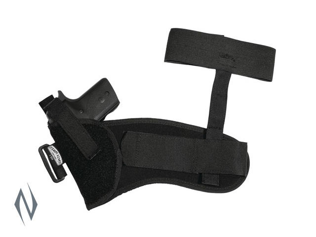 UNCLE MIKES ANKLE HOLSTER BLACK SIZE 1 LH Image