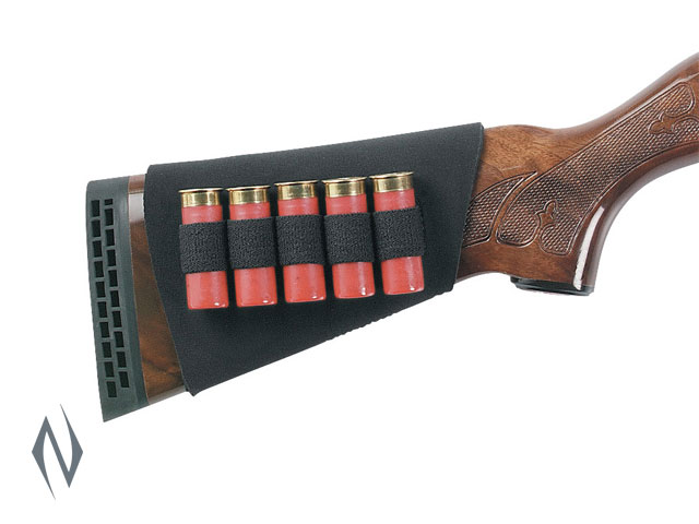 UNCLE MIKES BUTTSTOCK SHELL HOLDER SHOTGUN NEOPRENE 5 RND Image