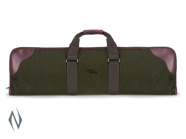 "UNCLE MIKES CANVAS OVER / UNDER SHOTGUN CASE BLACK 33"" Image"