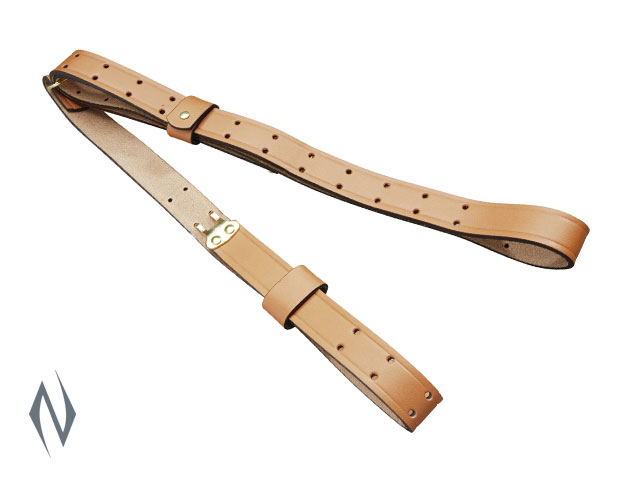 BUTLER CREEK MILITARY BROWN LEATHER SLING Image