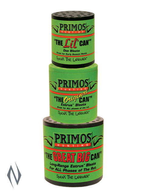 PRIMOS DEER CALL THE CAN FAMILY PACK Image