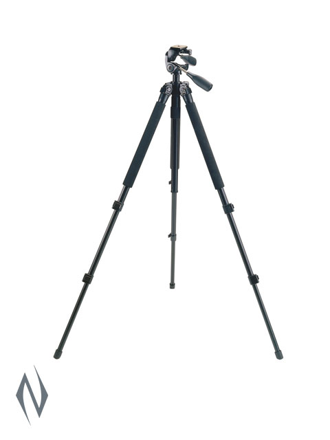 "BUSHNELL SPOTTING SCOPE TRIPOD 63"" TITANIUM BLACK Image"