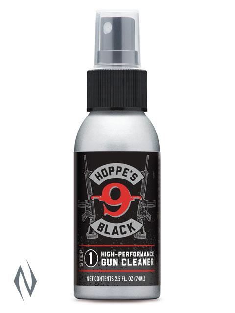 HOPPES BLACK SOLVENT 2.5OZ Image
