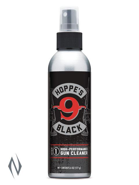 HOPPES BLACK SOLVENT 6OZ Image