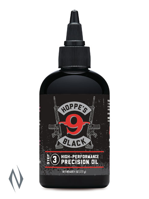 HOPPES BLACK PRECISION OIL 4OZ Image