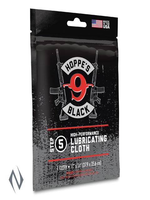 HOPPES BLACK LUBRICATED CLOTH Image