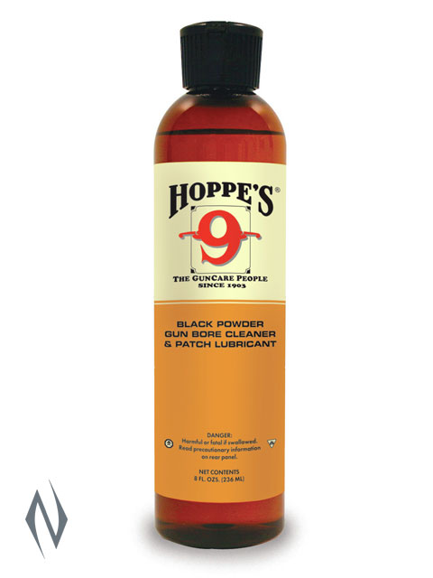 HOPPES NO 9 BLACK POWDER BORE SOLVENT & LUBRICANT 8OZ Image