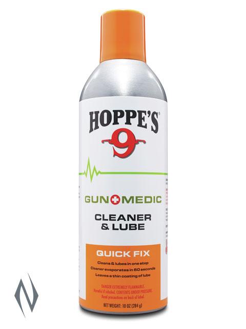 HOPPES NO 9 GUN MEDIC SOLVENT & LUBE 10OZ AEROSOL Image