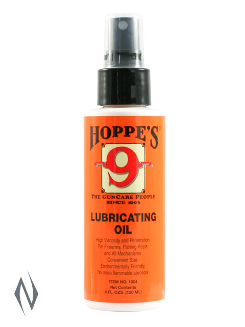 HOPPES NO 9 LUBRICATING OIL 4OZ PUMP Image