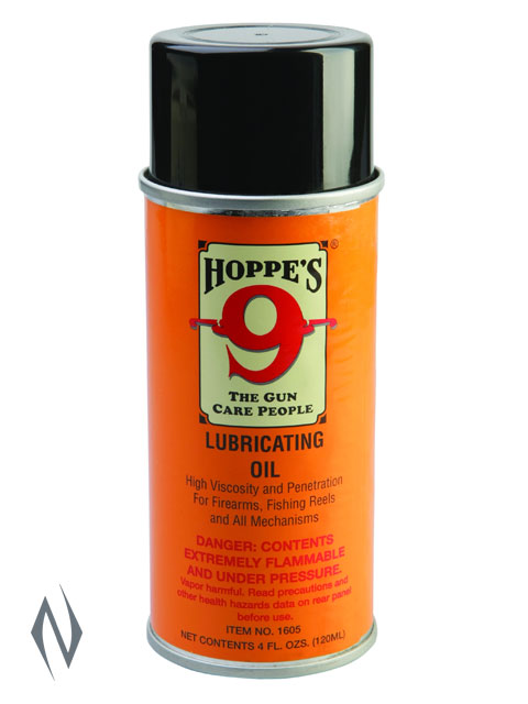 HOPPES NO 9 LUBRICATING OIL 4OZ AEROSOL Image